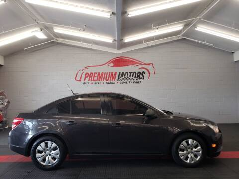 2014 Chevrolet Cruze for sale at Premium Motors in Villa Park IL
