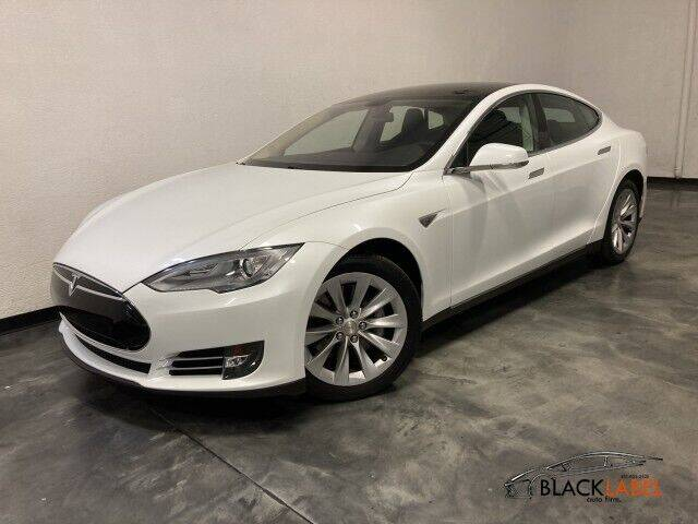2013 Tesla Model S for sale at BLACK LABEL AUTO FIRM in Riverside CA