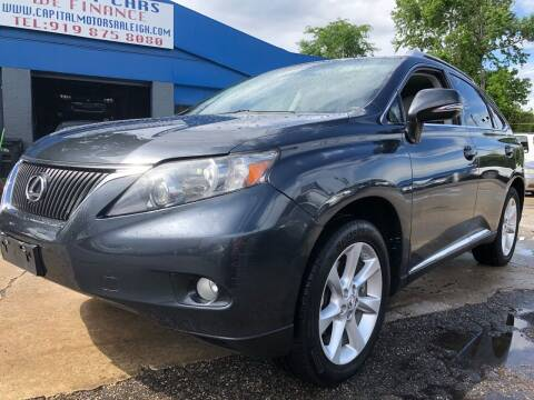 2011 Lexus RX 350 for sale at Capital Motors in Raleigh NC