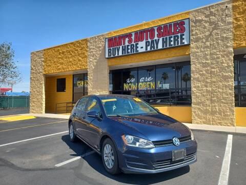 2015 Volkswagen Golf for sale at Marys Auto Sales in Phoenix AZ