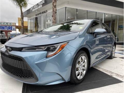 2020 Toyota Corolla for sale at AutoDeals in Daly City CA
