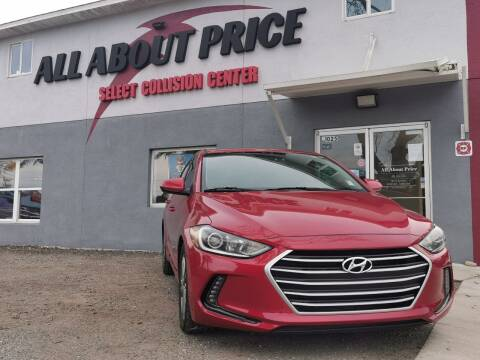 2018 Hyundai Elantra for sale at All About Price in Bunnell FL
