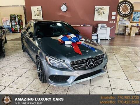 2017 Mercedes-Benz C-Class for sale at Amazing Luxury Cars in Snellville GA