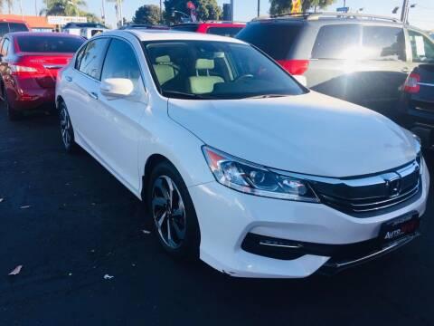2016 Honda Accord for sale at Auto Max of Ventura in Ventura CA