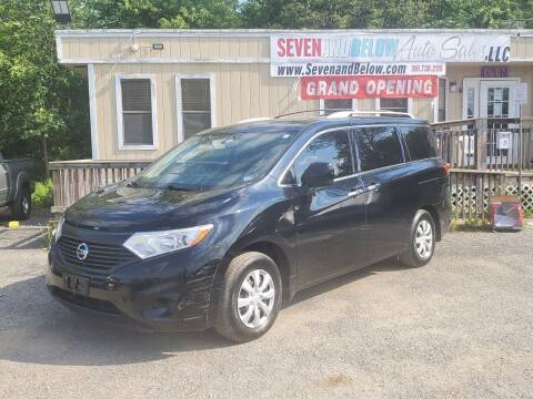 2015 Nissan Quest for sale at Seven and Below Auto Sales, LLC in Rockville MD