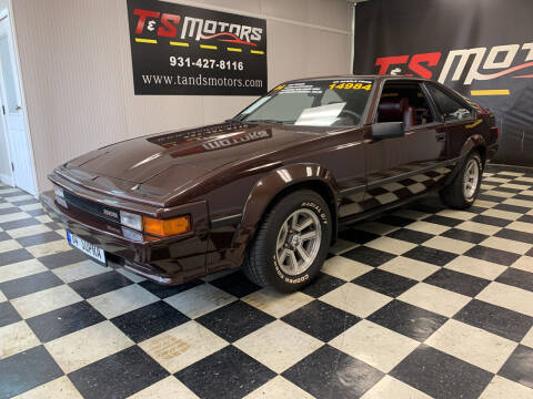 1984 Toyota Celica for sale at T & S Motors in Ardmore TN