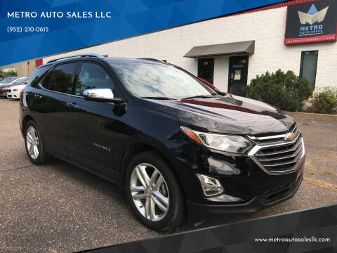 2018 Chevrolet Equinox for sale at METRO AUTO SALES LLC in Blaine MN