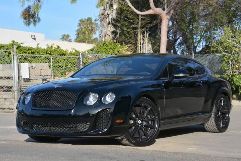 2010 Bentley Continental for sale at Milpas Motors in Santa Barbara CA