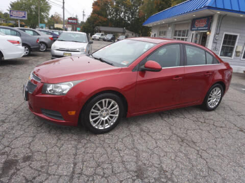 2011 Chevrolet Cruze for sale at Colonial Motors in Mine Hill NJ