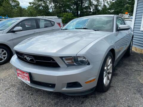 2010 Ford Mustang for sale at Brilliant Motors in Topsham ME