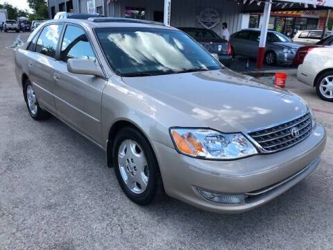 2004 Toyota Avalon for sale at East Dallas Automotive in Dallas TX