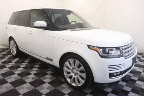 2017 Land Rover Range Rover for sale at AH Ride & Pride Auto Group in Akron OH