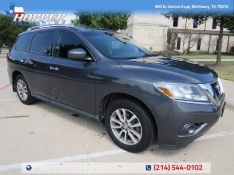 2014 Nissan Pathfinder for sale at HOPPER MOTORPLEX in Mckinney TX