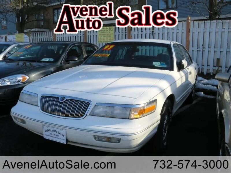 1997 Mercury Grand Marquis for sale at Avenel Auto Sales in Avenel NJ