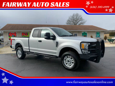 2017 Ford F-250 Super Duty for sale at FAIRWAY AUTO SALES in Washington MO