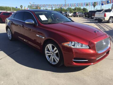 2012 Jaguar XJL for sale at A & V MOTORS in Hidalgo TX