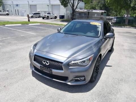 2015 Infiniti Q50 for sale at Best Price Car Dealer in Hallandale Beach FL