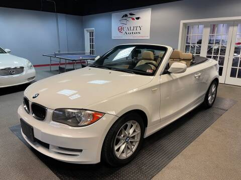 2011 BMW 1 Series for sale at Quality Autos in Marietta GA