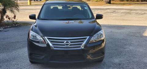 2015 Nissan Sentra for sale at Royal Auto Mart in Tampa FL