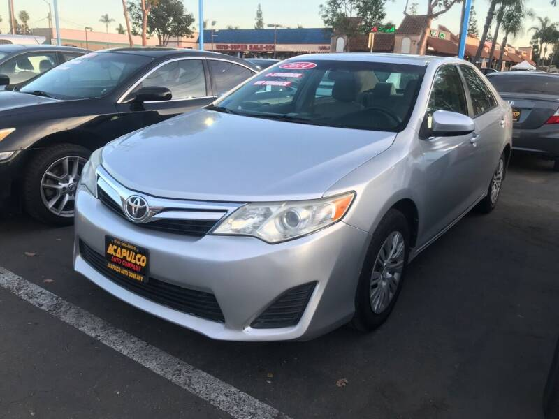 2014 Toyota Camry for sale at Acapulco Auto Company in Santa Ana CA