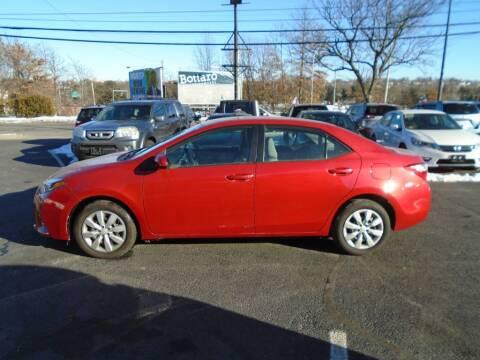 2016 Toyota Corolla for sale at Gemini Auto Sales in Providence RI