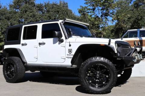 2011 Jeep Wrangler Unlimited for sale at SELECT JEEPS INC in League City TX