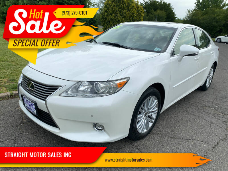 2015 Lexus ES 350 for sale at STRAIGHT MOTOR SALES INC in Paterson NJ