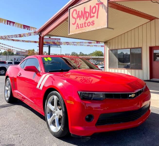 2014 Chevrolet Camaro for sale at Sandlot Autos in Tyler TX