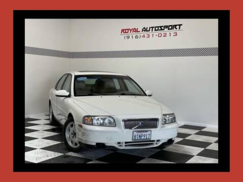 2003 Volvo S80 for sale at Royal AutoSport in Sacramento CA