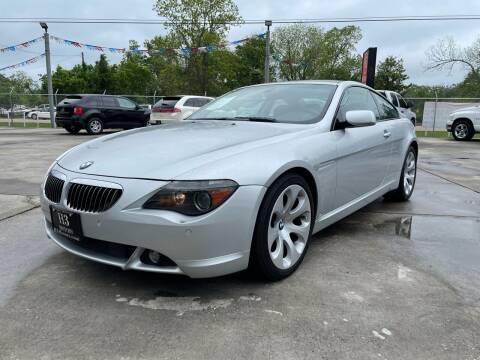 2007 BMW 6 Series for sale at H3 MOTORS in Dickinson TX