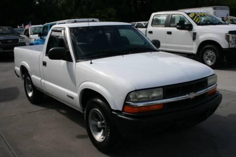 2002 Chevrolet S-10 for sale at Mike's Trucks & Cars in Port Orange FL