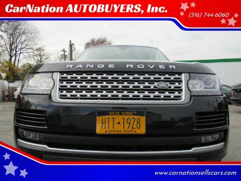 2015 Land Rover Range Rover for sale at CarNation AUTOBUYERS Inc. in Rockville Centre NY