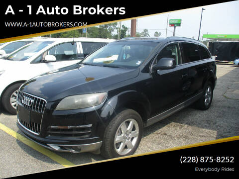 2012 Audi Q7 for sale at A - 1 Auto Brokers in Ocean Springs MS