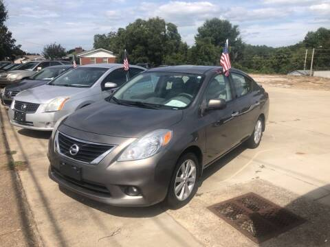 2014 Nissan Versa for sale at Mikes Auto Sales INC in Forest City NC
