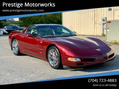 2003 Chevrolet Corvette for sale at Prestige Motorworks in Concord NC