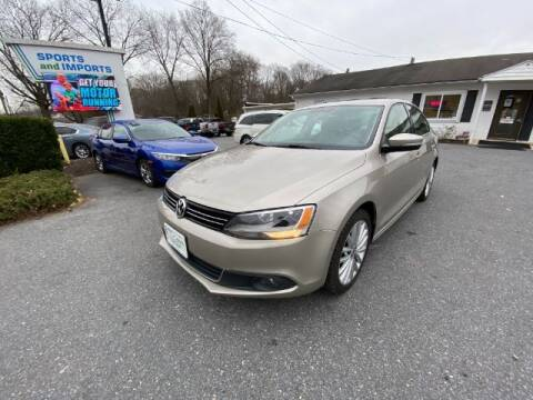 2014 Volkswagen Jetta for sale at Sports & Imports in Pasadena MD
