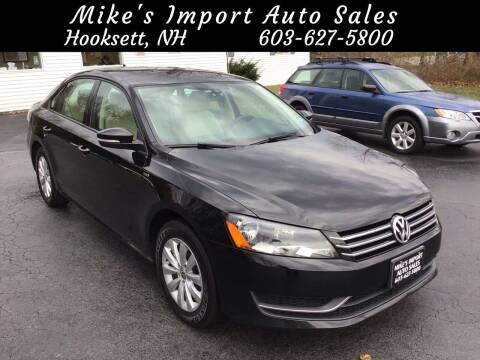 2015 Volkswagen Passat for sale at Mikes Import Auto Sales INC in Hooksett NH