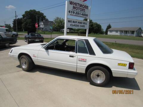 1979 Ford Mustang for sale at Whitmore Motors in Ashland OH