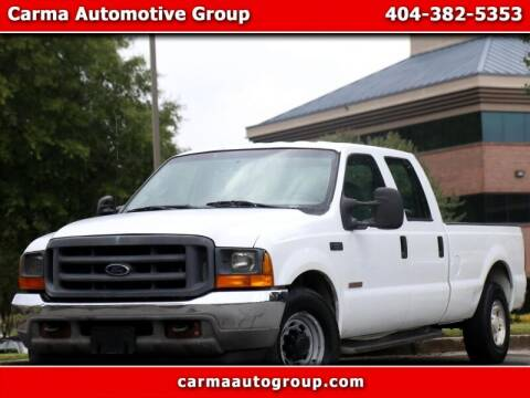 2001 Ford F-250 Super Duty for sale at Carma Auto Group in Duluth GA
