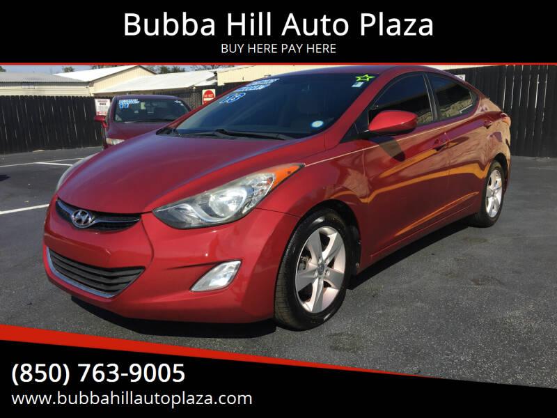 2013 Hyundai Elantra for sale at Bubba Hill Auto Plaza in Panama City FL