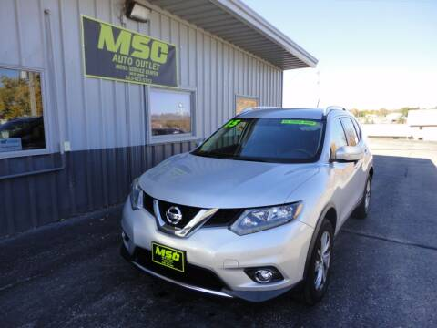 2015 Nissan Rogue for sale at Moss Service Center-MSC Auto Outlet in West Union IA