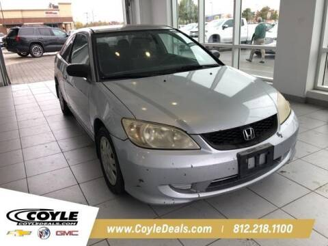 2005 Honda Civic for sale at COYLE GM - COYLE NISSAN - New Inventory in Clarksville IN
