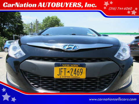 2015 Hyundai Sonata Hybrid for sale at CarNation AUTOBUYERS, Inc. in Rockville Centre NY