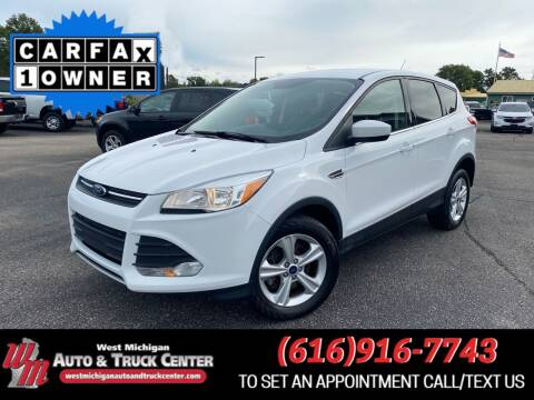 2013 Ford Escape for sale at West Michigan Auto and Truck Center in Cedar Springs MI