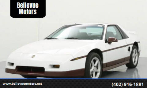 1985 Pontiac Fiero for sale at Bellevue Motors in Bellevue NE