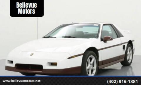 1985 Pontiac Fiero for sale at Bellevue Motors in Bellevue NE