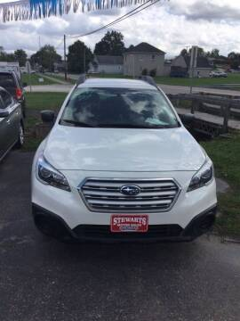 2017 Subaru Outback for sale at Stewart's Motor Sales in Byesville OH