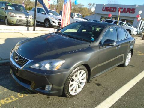 2010 Lexus IS 250 for sale at Island Auto Buyers in West Babylon NY