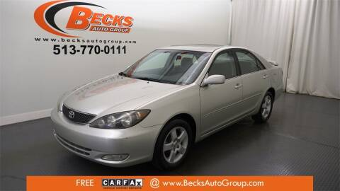 2005 Toyota Camry for sale at Becks Auto Group in Mason OH