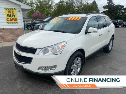 2012 Chevrolet Traverse for sale at Excel Auto Sales LLC in Kawkawlin MI